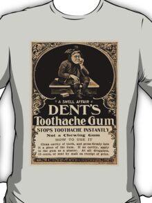 Vintage Detroit Ad for Dent's Gum ca. 1890 T-Shirt