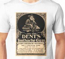 Vintage Detroit Ad for Dent's Gum ca. 1890 Unisex T-Shirt