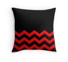 Beautiful Cushions/Chevron/ Black Red Throw Pillow