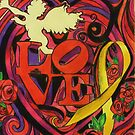 """Love and Liberty""  A Valentines Card Fundraiser to benefit our veterans by Kevin J Cooper"