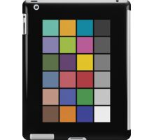 Photography color checker iPad case iPad Case/Skin