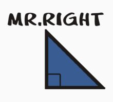 Mr.Right Kids Tee