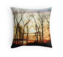The Way Out Throw Pillow