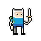 Pixel Finn by paperboyjim