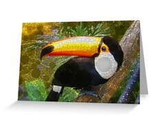 Can A Toucan Do the Can Can? Greeting Card