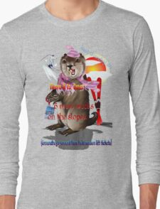Groundhog Day-6 more weeks Long Sleeve T-Shirt