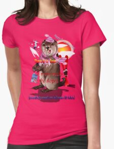 Groundhog Day-6 more weeks Womens Fitted T-Shirt