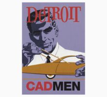 Vintage Detroit Designer CAD Men by The Detroit Room