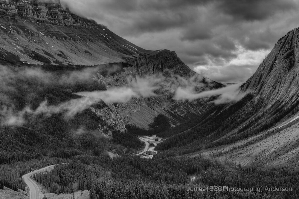 Icefields Parkway by JamesA1