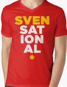 SVENSATIONAL Mens V-Neck T-Shirt