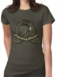 Charming Cthulhu Womens Fitted T-Shirt