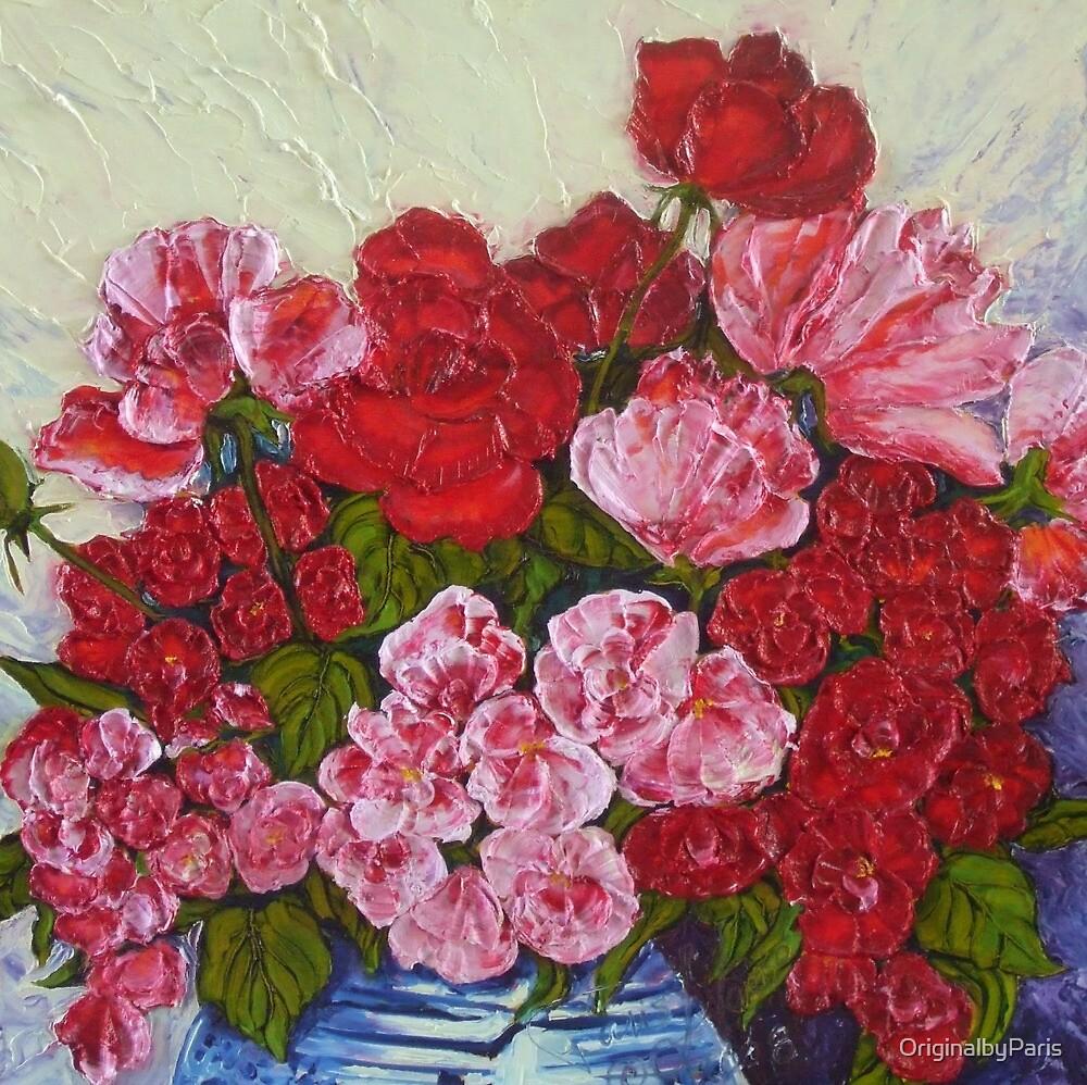 Roses & Peonies by OriginalbyParis