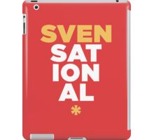 SVENSATIONAL iPad Case/Skin