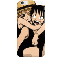 luffy nami iPhone Case/Skin