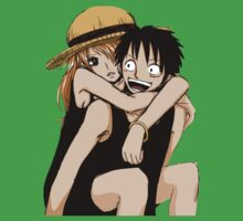 luffy nami Kids Clothes