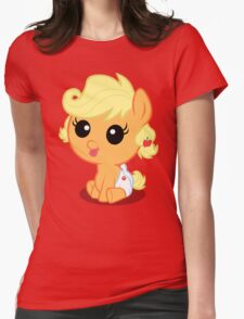 More Apple Fwittur? no text Womens Fitted T-Shirt
