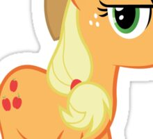 Applejack is not amused no text Sticker