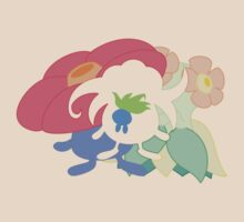 Oddish - Gloom - Vileplume + Bellossom by lomm