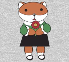 Fox in Dress Kids Clothes