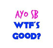 AYO SB WTFS GOOD? Necki Minaj Scaffbeezy by Trevor Simoes