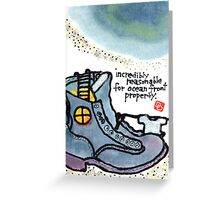 Shoe House (v.2) Greeting Card