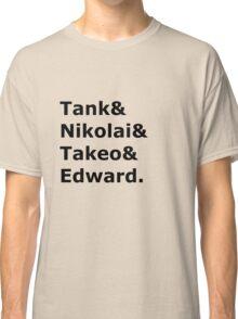 Nazi Zombies Characters Classic T-Shirt