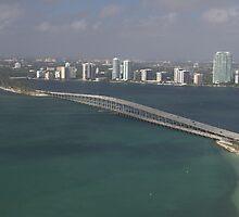 Miami: Rickenbacker Causeway by Kasia-D
