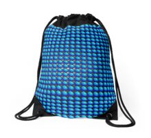 Light behind the bubbles Drawstring Bag
