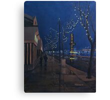 Midnight on Whyte Avenue Canvas Print