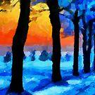 Winter Escape by DiNovici