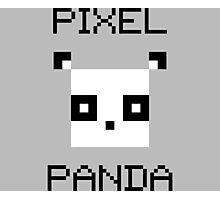 Pixel Panda Photographic Print