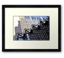 point of view.. Framed Print