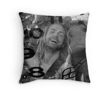 Trevor Hall Throw Pillow