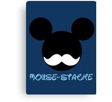 mouse-stache Canvas Print