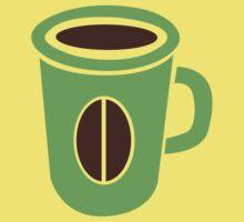 Green coffee mug cute! by jazzydevil
