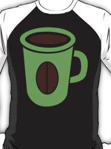 Green coffee mug cute! T-Shirt