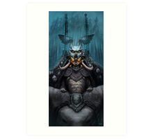 The Wizard's Hat and the Mechanical Man Art Print
