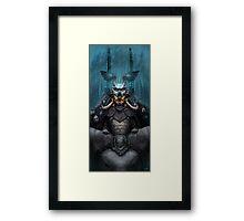 The Wizard's Hat and the Mechanical Man Framed Print