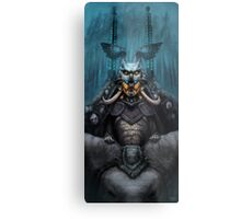 The Wizard's Hat and the Mechanical Man Metal Print