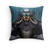 The Wizard's Hat and the Mechanical Man Throw Pillow