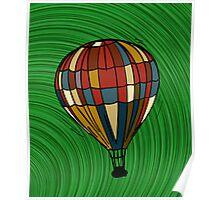 Fantasy balloon Poster