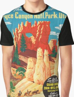 Vintage poster - Bryce Canyon Graphic T-Shirt