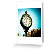 *Time Becomes... Greeting Card