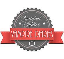 The vampire diaries-addicted Photographic Print