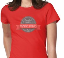 The vampire diaries-addicted Womens Fitted T-Shirt