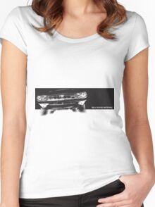 IM A DODGE MATERIAL Women's Fitted Scoop T-Shirt