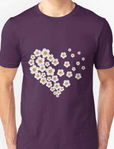 daisy heart purple T-Shirt