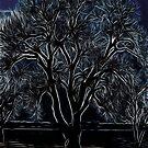 Tree Pattern`s iPad Case by ipadjohn