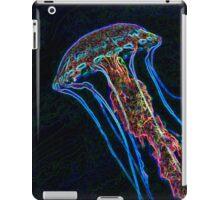 Electric jellyfish for iPad iPad Case/Skin