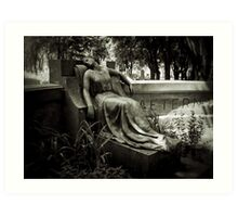I am Stretched on Your Grave Art Print